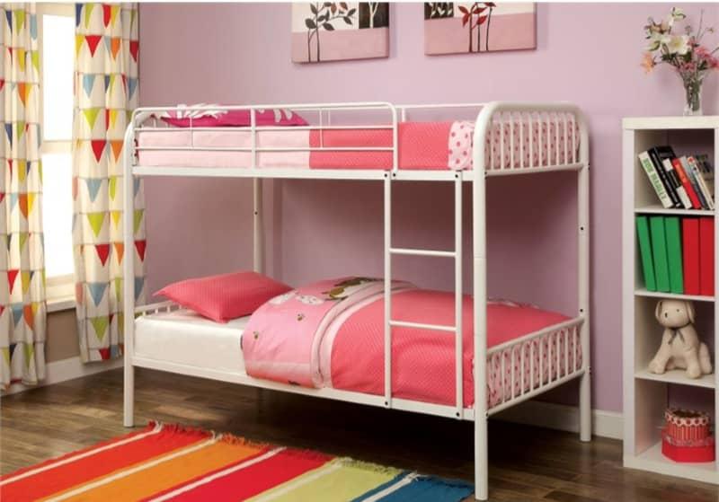 تخت خواب دو طبقه فلزی کد s6