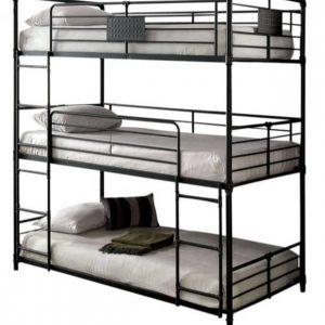 تخت خواب سه طبقه فلزی کد a2