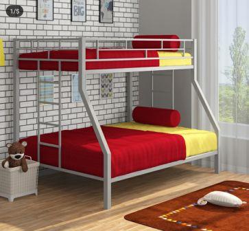 تخت خواب دو طبقه فلزی کد s14