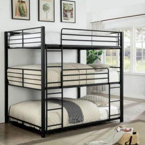 تختخواب سه طبقه فلزی