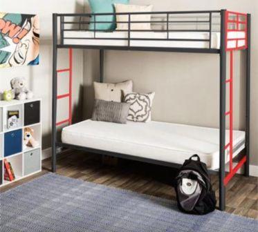 تخت خواب دو طبقه فلزی کد s4