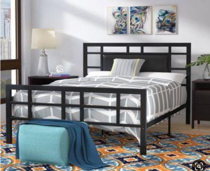 تخت خواب دو نفره فلزی کد m6