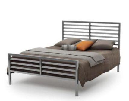 تخت خواب دو نفره فلزی کد m2