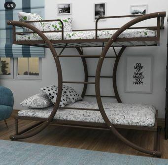 تخت خواب دو طبقه فلزی کد s8