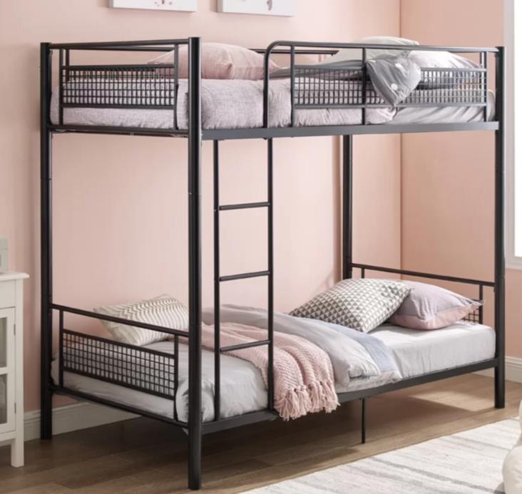تخت خواب دو طبقه فلزی کد s21