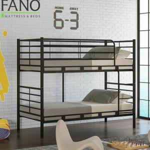 تخت خواب فلزی دو طبقه کد s22