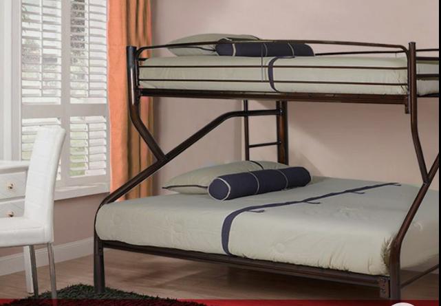 تخت خواب دو طبقه فلزی کد s28