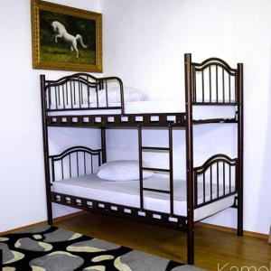 تخت خواب دو طبقه فلزی کد s26