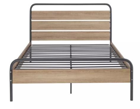 تخت خواب دو نفره فلزی کد m21