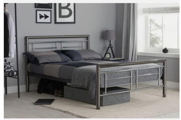 تخت خواب دو نفره فلزی کد m20