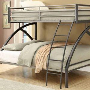 تخت خواب دو طبقه فلزی کد s10