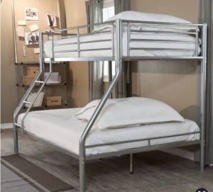 تخت خواب دو طبقه فلزی کد s9