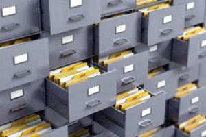 سازماندهی به اسناد با کمد بایگانی اداری