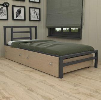 تخت خواب فلزی دو نفره کد m8