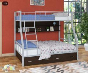 تخت خواب دو طبقه فلزی کد s15
