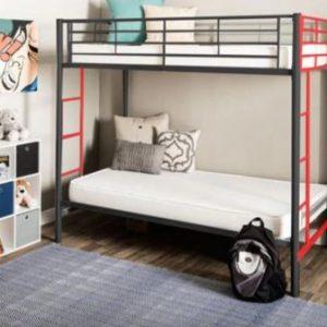 تخت خواب دو طبقه فلزی