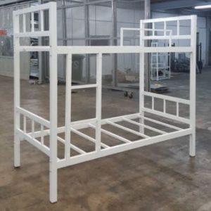 تخت خواب دو طبقه فلزی کد s3