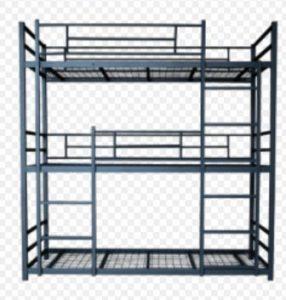 تخت خواب سه طبقه فلزی کد a1