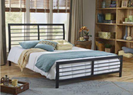 تخت خواب دو نفره فلزی کد m7
