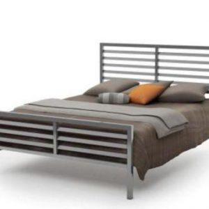 تخت خواب دو نفره فلزی