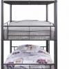 تخت خواب سه طبقه فلزی