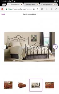 تخت خواب فرفوژه ۳