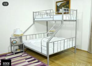 تخت خواب دو طبقه فلزی کد s25
